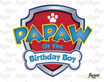 how to make fondant paw patrol badges