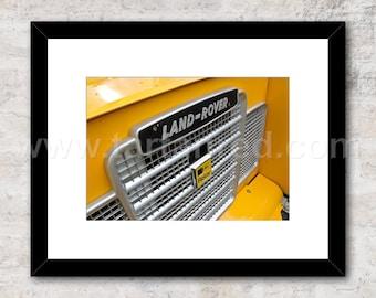 "Land Rover Series 3 Photo / Print,  Wall Art, AA 88"", 90, 110 Defender"