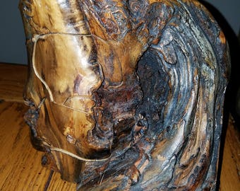 Natural Tree Segment Jewelry Box