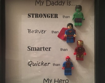 Lego dad superhero