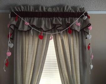 Valentine Hearts garland