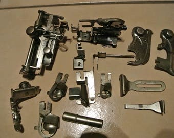 14 Vintage  sewing machine Accessories/attachments