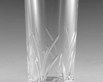 "EDINBURGH Crystal - MRUK6 Cut - Highball Tumbler Glass / Glasses - 5 5/8"" (1st)"