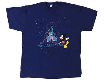 Vintage Mickey Mouse Disney World Shirt