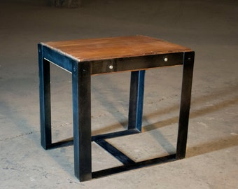 Boxer End Table