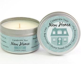 Celebrate Your New Home Milestone Candle 4.5 oz.