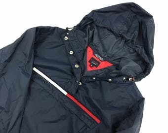 Vintage Tommy Hilfiger Windbreaker Raincoat Mens small Sailing Gear Polo Sport Ralph Lauren