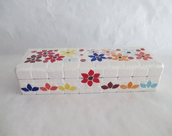"Box in mosaic ""Floral"""