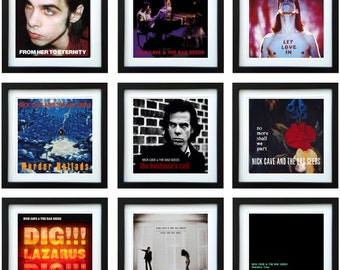 Nick Cave - Framed Album Art - Collector Series