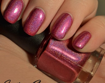 Cutie, Cutie - Pink Holographic Nail Polish