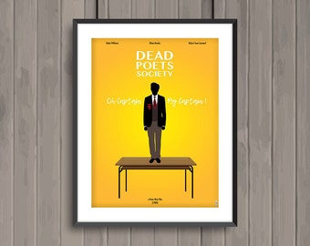 DEAD POETS SOCIETY, minimalist movie poster