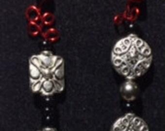 Beautiful Red Loc Jewelry