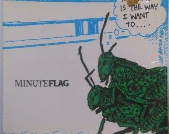 """Minuteflag Punk 12"""" Ep SIS Black Flag Minutemen Rollins 1985 SST"""
