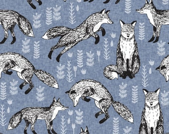 Fox Fabric by andrea_lauren
