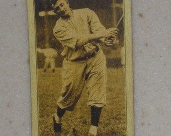 1916 M101-5 Honus Wagner Sporting News Back