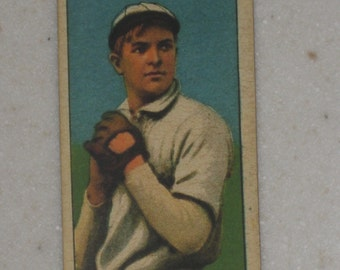 1909/10 T206 Christy Mathewson Sweet Caporal Cigarettes Back