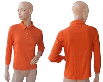 Vintage Polo Jeans Co. Ralph Lauren women top shirt sport orange