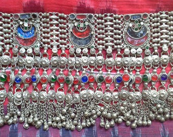 Tribal choker from India, Kutch, ethnic, jewelry, tribal dance, fusion dance, belly dance, oriental dance