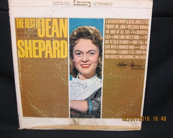 Best of Jean Shepard - Capitol Records
