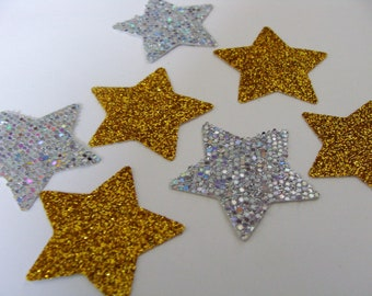 Gold Star Confetti, Wedding  Star Confetti, Gold Party Decorations, Gold Baby Shower Decorations, Gold Birthday table Decor, Gold Glitter