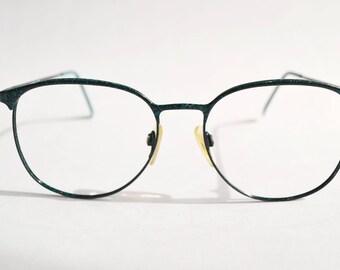Vintage Garbeau 7016 Eyeglasses Frame | Retro | Green Frame