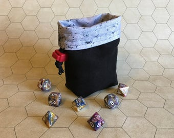 The Dark Side of the Moon - Deck/Dice Bag