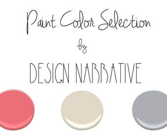 Paint color selection for one room
