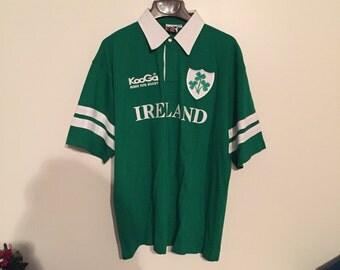 VINTAGE Ireland Rugby Jersey