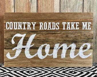 Wall Art - Country quote