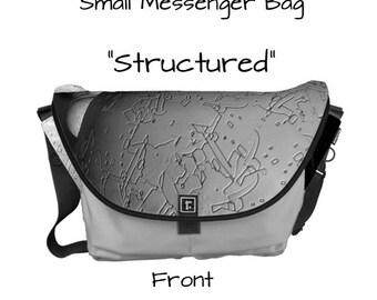 """Messenger Bag - """"Structured"""" - Great gift item!"""