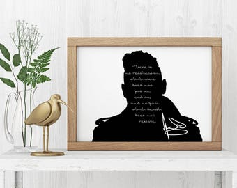 "Miguel ""There is no recollection"" Art Print"