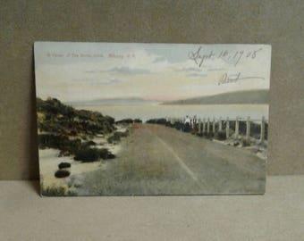 Vintage Albany W.A. Postcard 1908