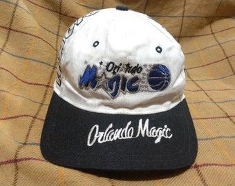 Vintage Orlando Magic Cap Hat Vintage Embroidered Orlando Magic