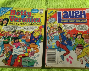 The Archie Digest Library Comic Books #23 and #71