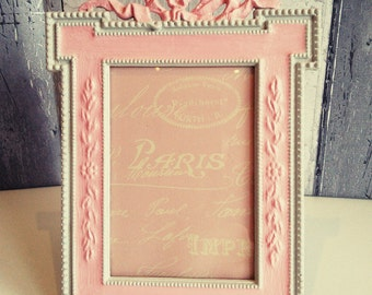 table top frames ornate photo frame small picture frames cottage chic frame shabby chic frames upcycled frames ornate frames
