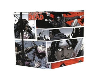 Kindle Case made with The Walking Dead Comic Fabric, Kindle Cover, Samsung Tab Case, Nook Case, iPad mini Cover, Kobo Cover, iPad mini Case