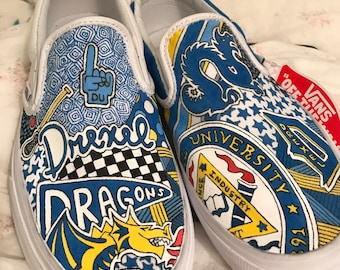 Custom Drexel University Sneakers