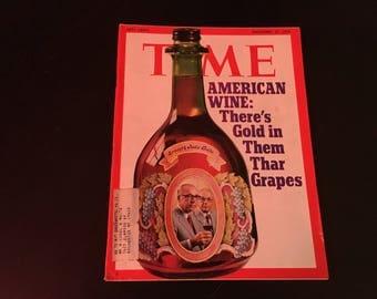 Time Magazine  November 27 1972