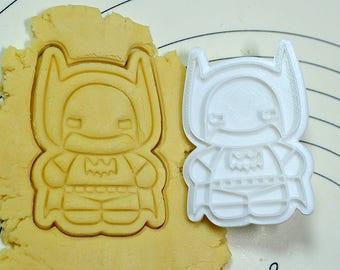 Cute Batman Cookie Cutter and Stamp