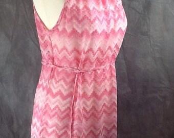 Crochet lace gathered neck coverup beach dress size 10 upto16