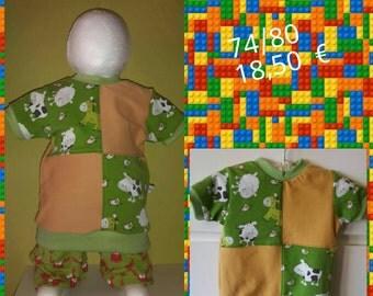 """Cute T-Shirt """"Farm"""" Gr. 74/80"""