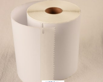 """2 rolls of DYMO®-Compatible 1744907 Shipping Postage Labels (4"""" x 6"""") - 220 Labels per Roll"""