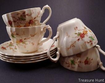 Vintage Myott teacups and saucers