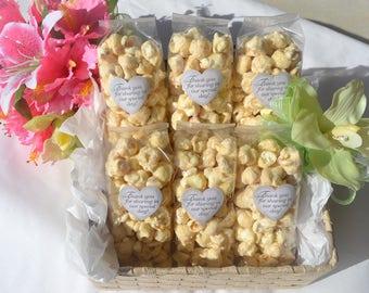 Wedding Favor popcorn bags