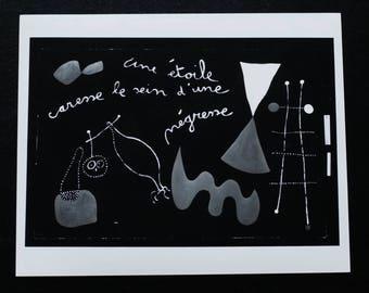 Joan Miro - Original Press Photograph.