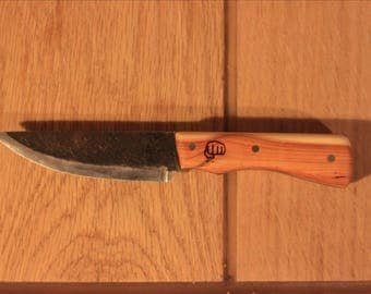 Forged knife handle if