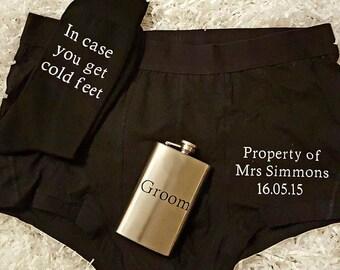 Wedding gift set for groom