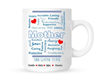 Custom Mother Gift // Coffee Mug // Personalized Mother mug // Gift for Mother // Custom Coffee mug gift//Mother's Day Gift