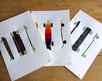 Longboard Series 1,2 and 3