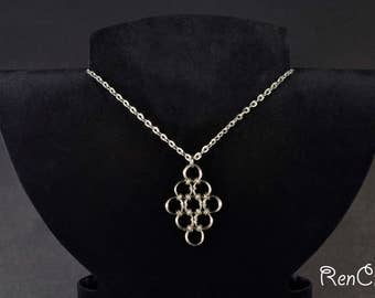 Chainmail Jewelry, Pendant